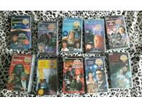 Job lot of collectable Doctor Who VHS video tapes rare 17 videos