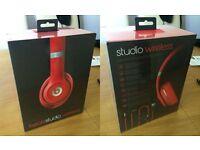 BRAND NEW UNOPENED Beats Studio Wireless Headphones - Red