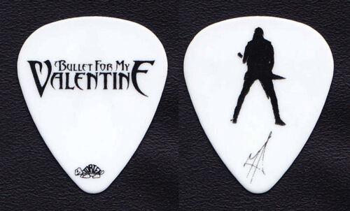 Bullet For My Valentine Matt Tuck Signature White Guitar Pick #2 - 2010 Tour