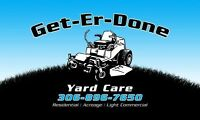 Yard Care Services!