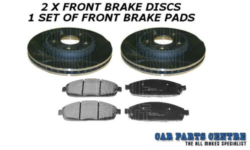 FOR JEEP CHEROKEE 3.0DT SUV V6 2004-2010 FRONT BRAKE DISCS BRAKE PADS NEW