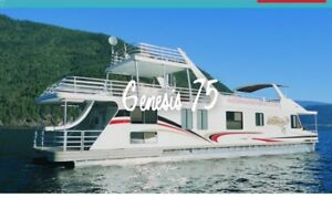 SHUSWAP - WATERWAY HOUSE BOAT VACATION