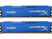 Hyper Fury X 8GB 2 GB sticks