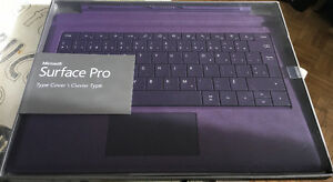Keyboard Surface pro new never open French