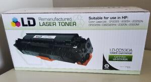 LD Compatible Replacement Black Toner Cartridge for HP LaserJet