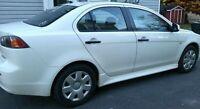 Warrantied 2010 Mitsubishi Lancer