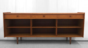 Danish Credenza Hutch : Danish teak credenza buy or sell hutches display cabinets in