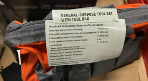 General-Purpose   Tool Set (includes 9    accessories)