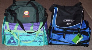 Gym Travel Bags assorted sizes. $30 for 4 bags. Some NEW