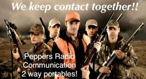 HUNTING TWO WAY RADIOS ARE HERE - HIGH POWER - Great Range .. !!!