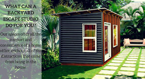 Garden Offices and Modern Sheds and Studios