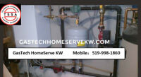 Furnace, stove, Dish washer, Water softener, Range hood hookup