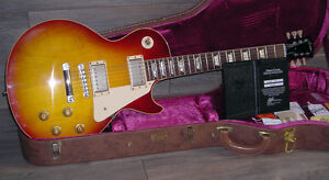 2011 Custom Shop 58 Reissue Gibson Les Paul R8 VOS Washed Cherry