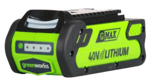 40v Battery Greenworks   Kijiji - Buy, Sell & Save with Canada's #1