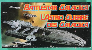 Parker Brothers Battlestar Galactica Board Game, 1978, complete