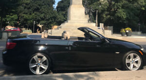 2011 BMW 328i Convertible - Jet Black with Oyster white interior