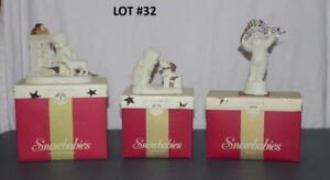 Snow Babies Collectible Ornaments