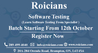 SOFTWARE TESTING|CLASSES FROM SCRATCH|BATCH STARTS 12-OCT
