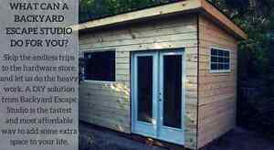 Modern Sheds and Smart Garden Offices - Backyard Escape Studios