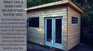 Design & Plan Backyard Sheds & Studios - Custom Made!