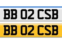 Personal Registration Plate