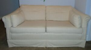 2 GREAT LOVESEATS - ONE IS A QUEEN HIDE-A-BED