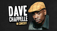 DAVE CHAPPELLE JULY 21-22 AMAZING FLOOR TICKETS. 514-815-7253