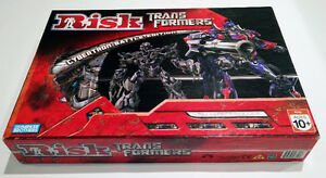 Risk Transformers Board Game