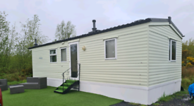 2 Bedroom Static Caravan, Double Glazed, Electric Heating Pitched Roof