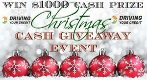 !!! $1000 CASH PRIZE CHRISTMAS GIVEAWAY !!!