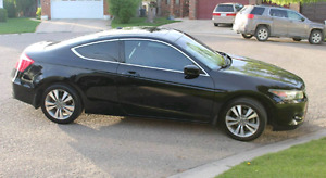 2009 HONDA ACCORD EX-L COUPE! FULLY LOADED! LOW KM! 1 OWNER CAR