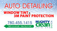 Auto Detailing, Window Tinting and Paint Protection Film.
