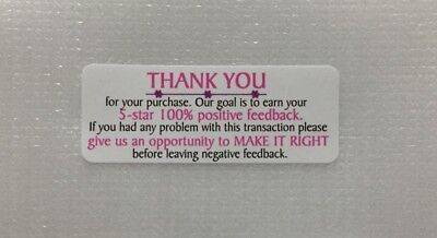 Thank You For Your Purchase Stickers 30pcs Design36 - Free Us Shipping