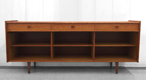 Vintage Danish Teak Wardrobe / Dresser