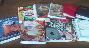 Nine Great Recipe Books Brand New Condition