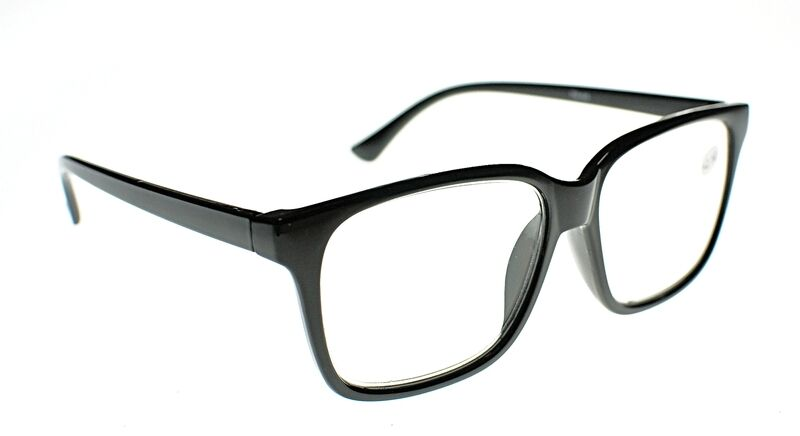 23ae60d8682a GEEK NERD Large Unisex Stylish Reading Glasses in 3 Colours+1.0+1.5+2.0+2.5  TN44