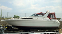 Sea Ray sundancer 280 1989 11 pi.largeur moteurs refaits, propre