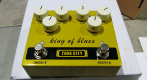 King  of the Blues   O.D.   Pedal  **( brand new)
