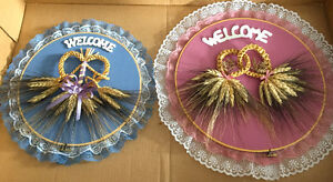 Wheat Welcome signs