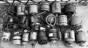 20 ELECTRIC MOTORS, ALL WORKING!