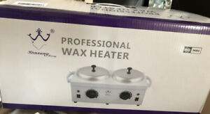 Professional Double Wax Warmer Heater - New in box