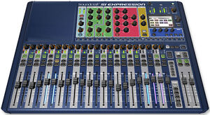 NEW SI Expression 2 Mixing console