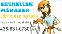 cleaning lady,