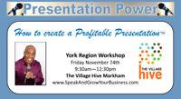 Presentation Power...How to Create a Profitable Presentation