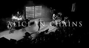 Alice in Chains @ Casino Rama April 25th third Row of first tier