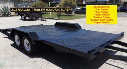 NEW 2900KG 15FT CAR TRAILER WITH UNDERBODY RAMPS