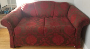 RUBY RED SOFA BED