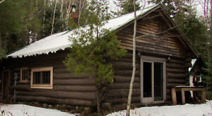 FOR SALE: LOG CABIN: 23 Northwoods Drive, Batchewana area