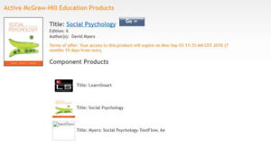 PSYCO 241 - SOCIAL PSYCHOLOGY E-BOOK