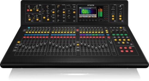 Midas M32-ip 40-channel Digital Mixer Console + Case W/ Doghouse & Wheels